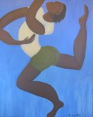 """Joy"" acrylic on canvas by Bea Garth, copyright 2015"