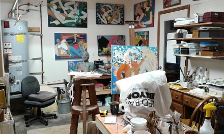 Bea Garth's studio long view to front OS nov